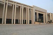石家庄博物馆的外景