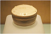 耀州窑瓷砚盒