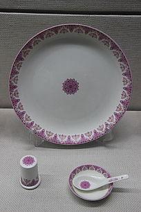 高石英瓷钻石餐具