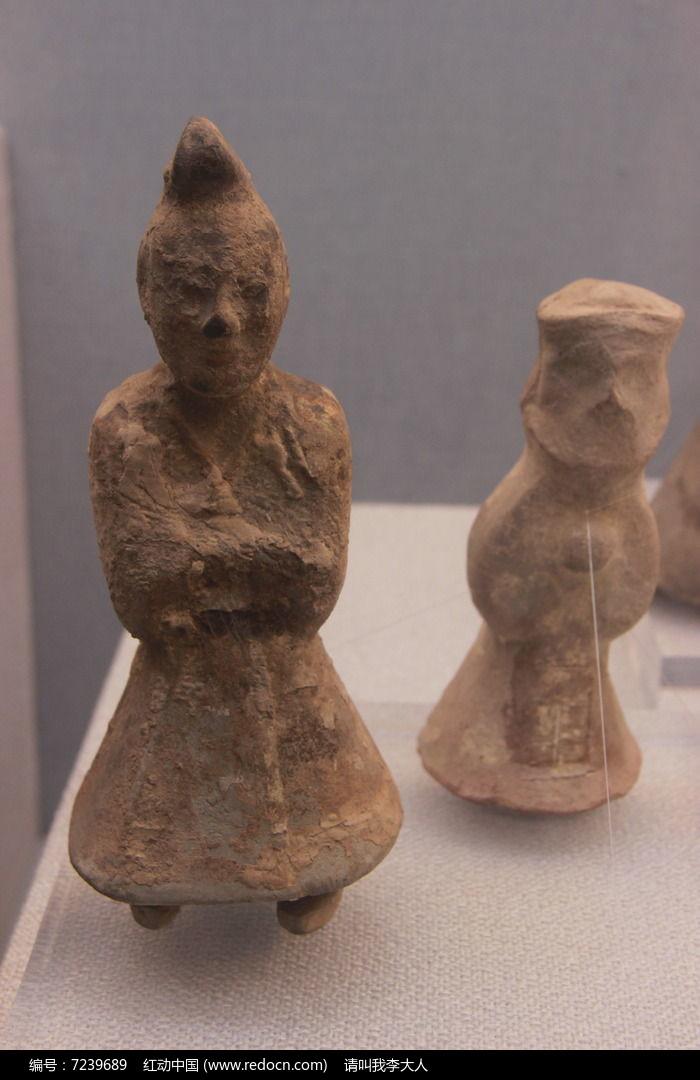 汉代陶俑图片