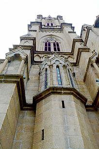 欧式教堂外墙