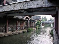 秦淮河桥洞古建筑