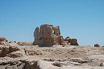 吐鲁番交河古城车师国遗址