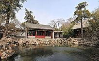 北京北海公园抱素书屋