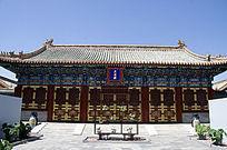 北京北海公园阐福寺天王殿