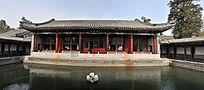 北京北海公园静心斋镜清台