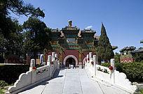 北京北海公园小西天