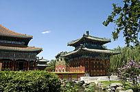 北京北海公园小西天建筑群