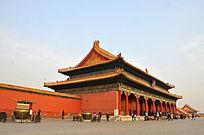北京故宫乾清殿外景