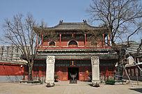 北京智化寺万佛阁