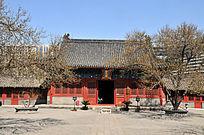 北京智化寺智化殿