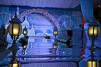 婚礼场面布置效果图