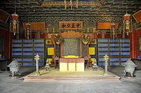 北京故宫养性殿内景