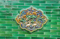 北京故宫影背墙琉璃装饰画