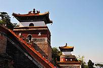 北京颐和园四大部洲