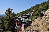 北京颐和园五方阁外景