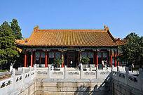 北京颐和园玉华殿