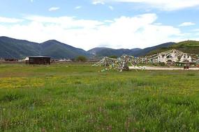 草原风景秀丽
