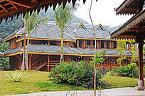 傣族茶厂建筑