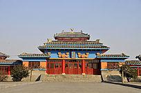 古墓博物馆建筑物