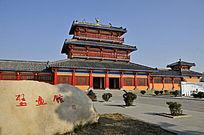 河南洛阳古墓博物馆壁画馆