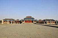 河南洛阳古墓博物馆建筑群