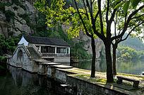 寂静的东湖景区
