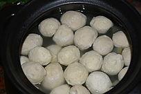 砂锅客家猪肉丸汤