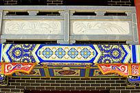 寺庙阳台外墙装饰图案