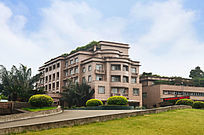 现代化宾馆别墅建筑风景图片