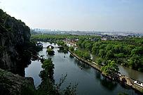 浙江绍兴东湖景区
