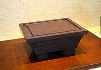 中国馆模型砚石