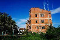 红砖住宅建筑