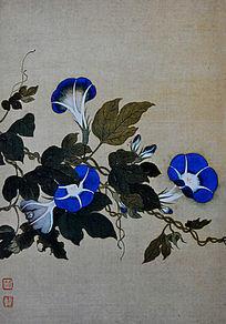 花卉图 恽寿平 清代