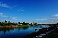 乡村河流风景