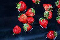 诱人的草莓图