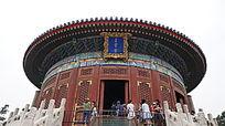 北京天坛公园皇穹宇