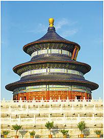 北京天坛公园建筑