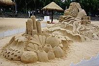 海洋艺术沙雕