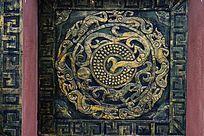 龙纹图案壁画