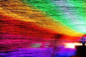 七彩色彩背景