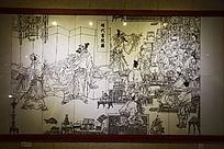 岳麓书院明代书院图壁画