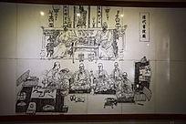岳麓书院清代书院图壁画