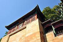 北京颐和园五方阁