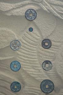 磨边线铜钱