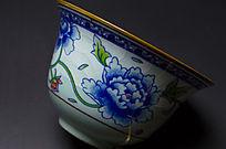 牡丹纹茶碗