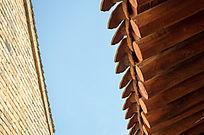 木质房檐屋檐