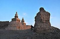 内蒙古黑城遗址