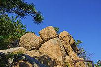 千山小黄山奇石