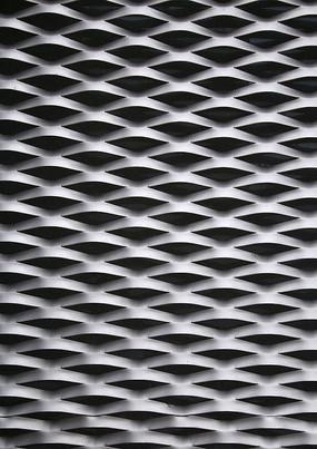 材质纹理异形波纹铝建筑外表皮龙美术馆